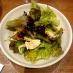 肉バルGABURICO - 蒸し鶏と白胡麻香るグリーンサラダ