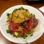 肉バルGABURICO - 桜ファーム直送 新鮮馬肉~おろしポン酢添え~