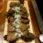 肉バルGABURICO - 仙台名物 極上牛タンのMISO焼き