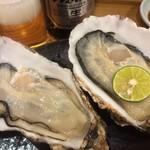 つきぢ神楽寿司 - 三陸の生牡蠣