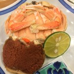 つきぢ神楽寿司 - せいこ蟹
