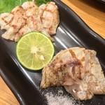 つきぢ神楽寿司 - のどぐろの炙り