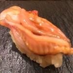 つきぢ神楽寿司 - 赤貝ひも