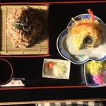 和食処 羽山 - 天ぷらそば