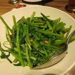 60929488 - 空心菜の辛い豆板醤炒め175元