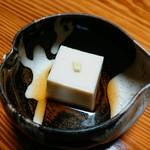 山の茶屋 - 上品な胡麻豆腐