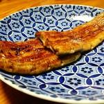 山の茶屋 - 鰻の蒲焼き まずはそのまま鰻の味を堪能下さい