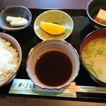 お家のとんかつ亭 - 定食のセット(*^^*)
