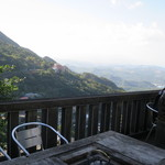 Jioufen Teahouse - 眺めの良い屋外席