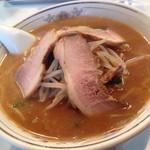 太白楼 - 味噌チャーシュー麺 ¥850
