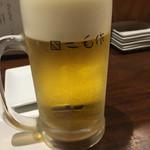 二毛作 - まずは生ビールから!