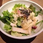 60946961 - 白菜とずわい蟹の和風サラダ