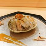 あま木 - 香住の香箱蒸し飯