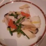 60950149 - いかと野菜の炒め