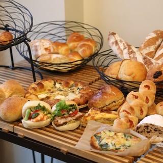 国産小麦の香り豊かなパン!