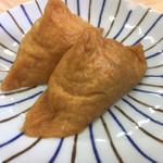 うどん処  しんせい - 稲荷寿司(*゚∀゚*)80円×2