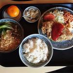 肉のやしろ 青木亭 - ビフカツ定食