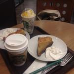 スターバックスコーヒー - 料理写真:チャイとホワイトチョコラティバナナココフラペチーノ