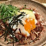本町製麺所 本店 - 選べる丼ぶりセットのじゃこ鰹節丼