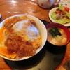 Yorimichi - 料理写真:かつ丼 デカい!