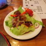 与里道 - 野菜サラダ