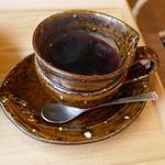 真山 - コーヒーカップのアップ