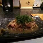 和洋びすとろ じゅあん - 鶏肉のたたき