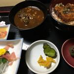 うなぎ・日本料理 ゑびす家 - 川魚御膳 ¥2250