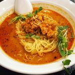 四川料理 福楽 - 「坦坦麺+小ライス」坦坦麺