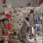 METoA Cafe & Kitchen - (2016/11月)三菱電機のロボットと折り鶴