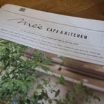 METoA Cafe & Kitchen - (2016/11月)メニュー表紙