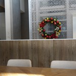 METoA Cafe & Kitchen - (2016/11月)店内テーブル席