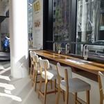 METoA Cafe & Kitchen - (2016/11月)店内カウンター席