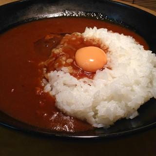 蜜玉 - 料理写真:卵カレーライス