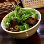 麺座 かたぶつ - 【期間限定】焼肉丼