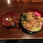おんどり家 - 【豚バラ丼・塩…800円】♫2016/12
