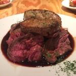 PETIT deco - 牛肉とフォアグラのロッシーニ