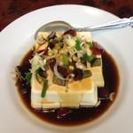 中華料理 嘉宴 - ピータン豆腐