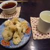 イボンヌ - 料理写真:旭菊 純米大吟、カリフラワーのクミン風味炒め