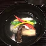 和ごころ 泉 - お椀 蟹真丈