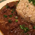 肉ビストロ モニ - 牛スジカレー