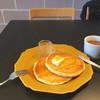 食堂カフェ potto - 料理写真:発酵バターとメイプルシロップのパンケーキ