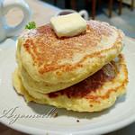 喫茶 flat - 料理写真:厚焼きホットケーキ
