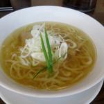 手打ち麺 やす田 - イリコ「塩」700円