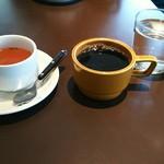 60972108 - サイドスープとコーヒー