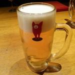 南部鉄酒場 豚バルBYO - 生ビール