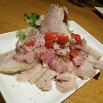 南部鉄酒場 豚バルBYO - 松阪ポークのプティサレ(ばら肉の塩漬け)
