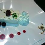 スクウェアエニックスカフェトウキョウ - 期間限定・モーグリチーズケーキアイス(スクエニカフェ秋葉原)