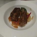 南国酒家 - イベリコ豚のスペアリブ黒酢ソース仕立て