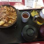 クアリゾート湯舟沢 - 料理写真:ケイちゃん定食850   生600